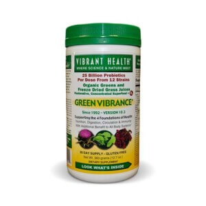 Green Virbrance Bottle