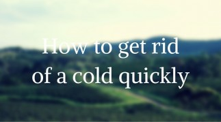 How to get rid of a cold sore quickly