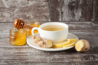 How to Get Rid of a Wet Cough - Ginger tea