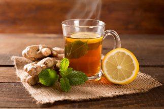 How to Get Rid of a Wet Cough - Lemon tea