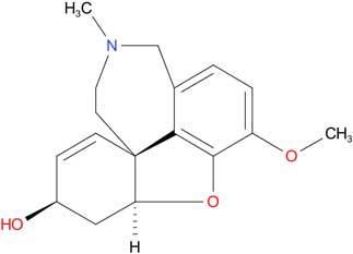 galantamine molecule